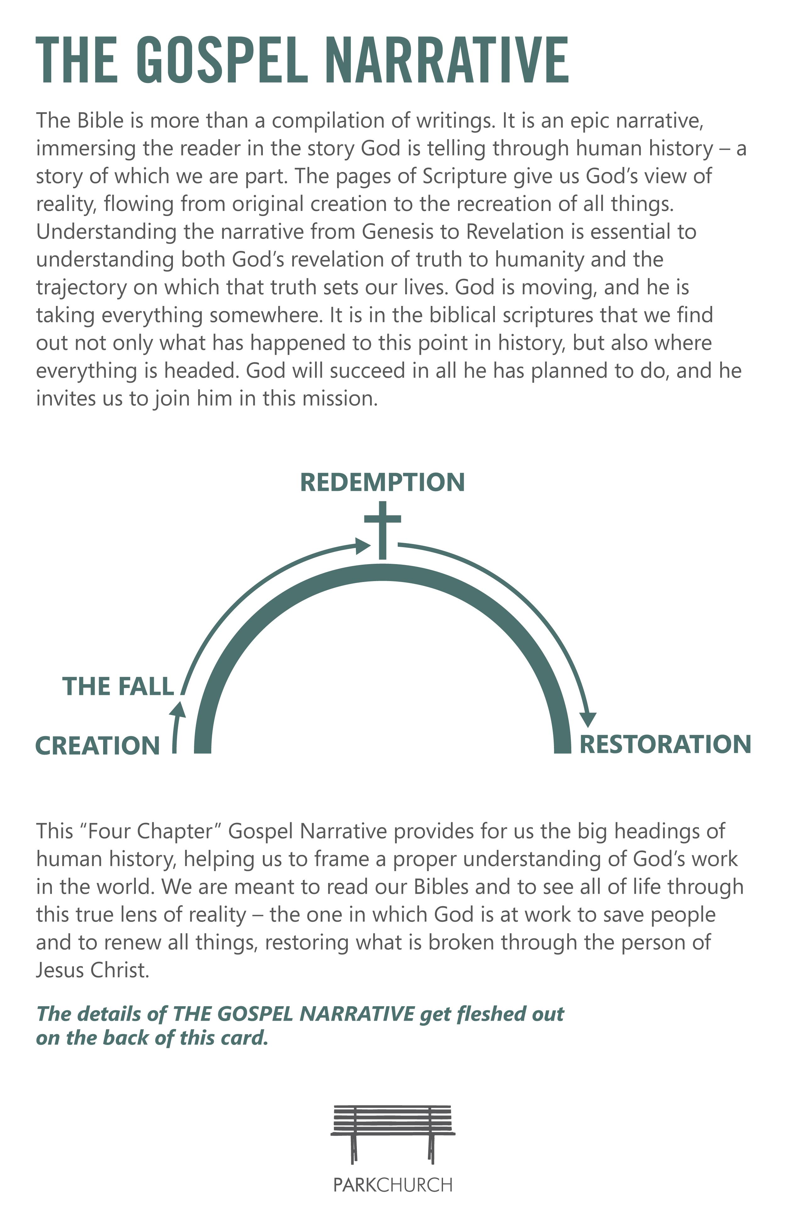 The Gospel Narrative